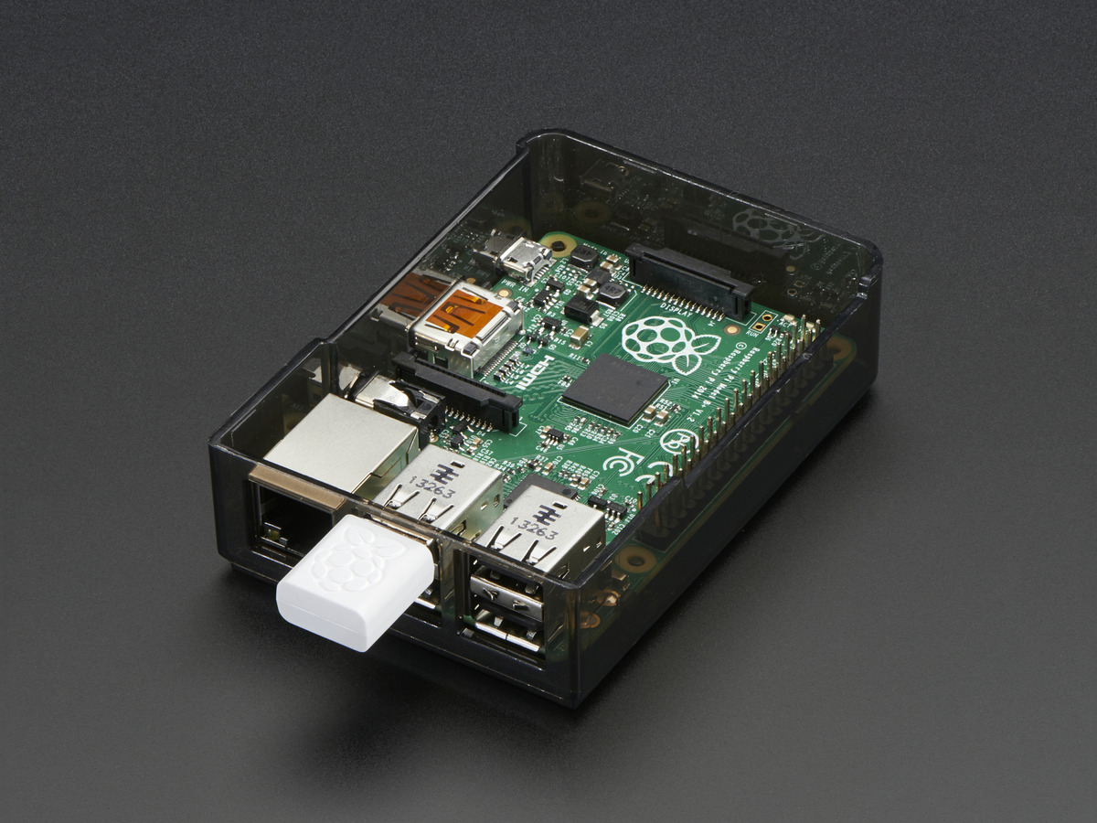 Miniature WiFi Module - Official Raspberry Pi Edition ID: 2638