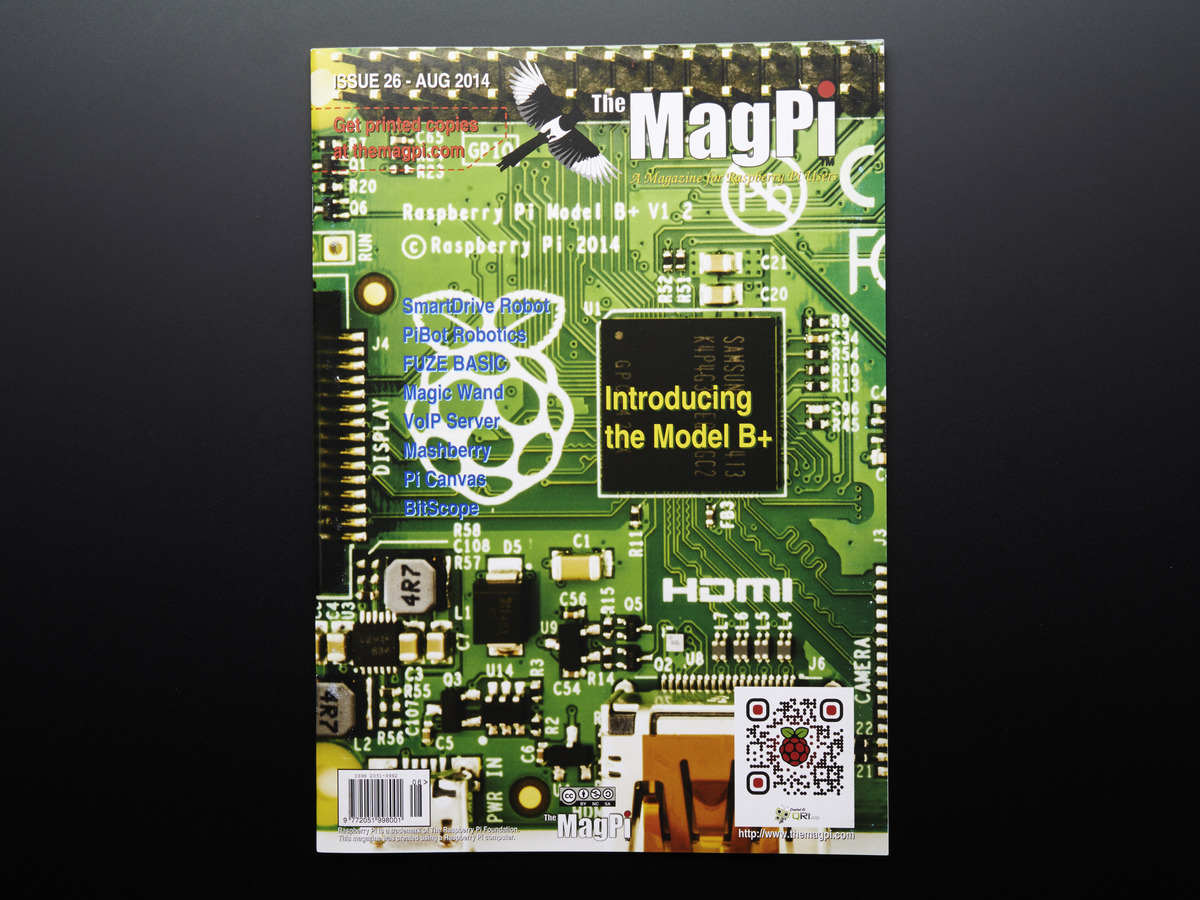 Books Magazines Adafruit Industries Unique Fun Diy Learn Python And Electronics With Minecraft Pi Edition The Magpi Issue 26