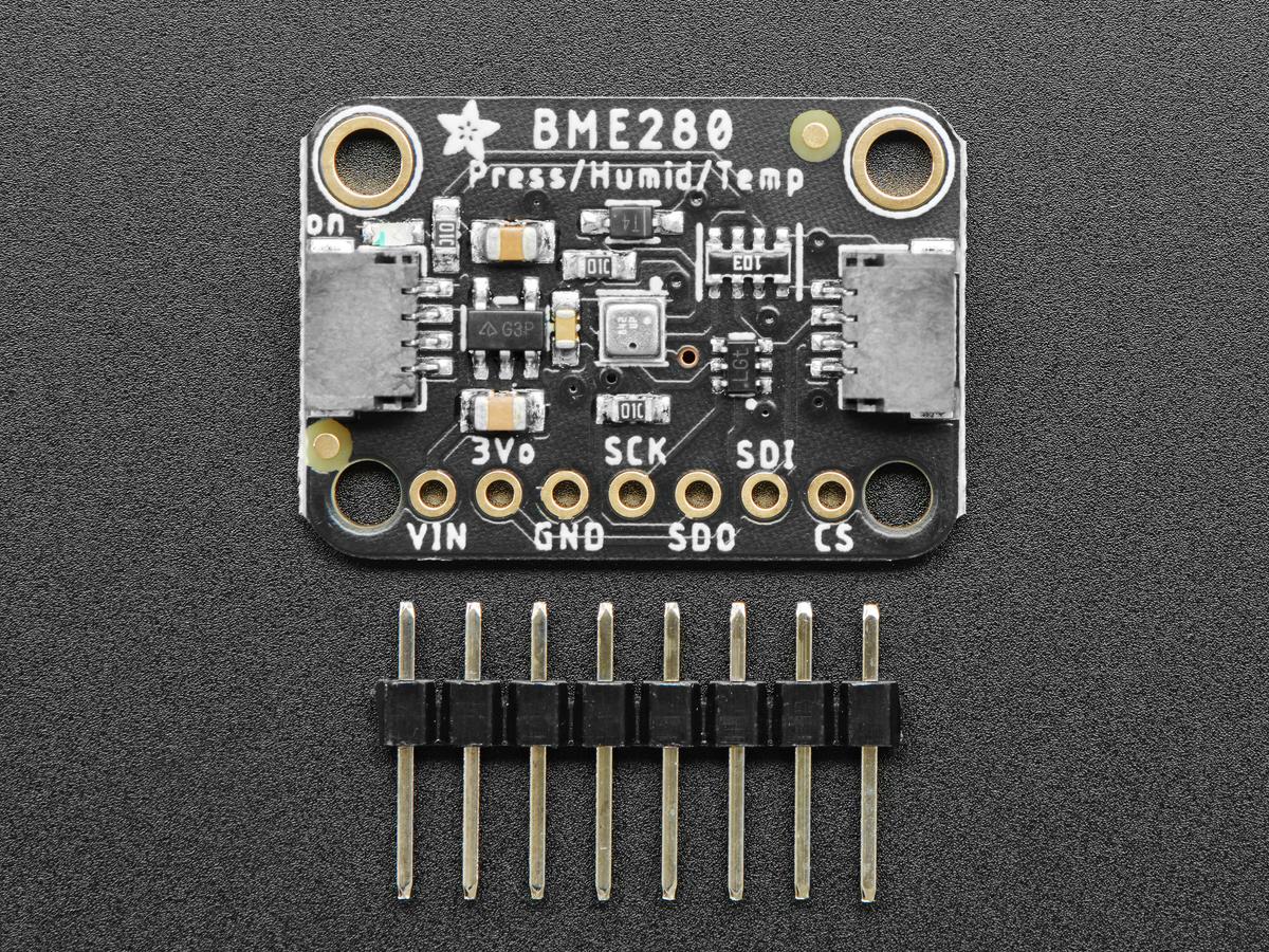 Adafruit Bme280 I2c Or Spi Temperature Humidity Pressure Sensor  Stemma Qt  Id  2652