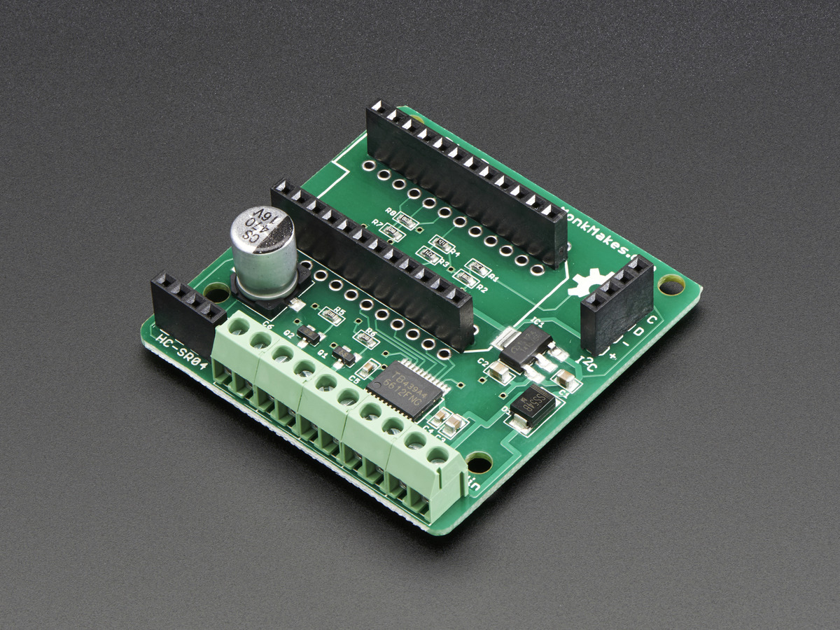 PhoBot - Robotics Shield for Photon ...