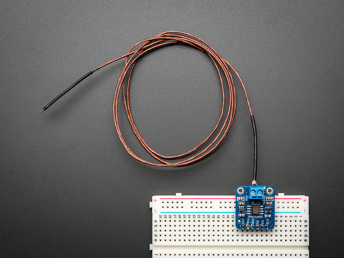 Thermocouple Amplifier MAX31855 breakout board (MAX6675 upgrade) [v2.0  #914A3A