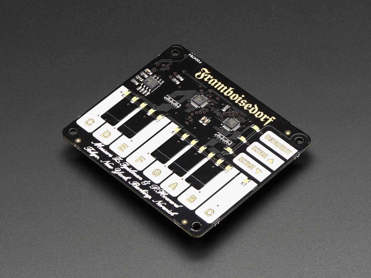 Pimoroni Piano HAT ID: 2695 - $19 95 : Adafruit Industries