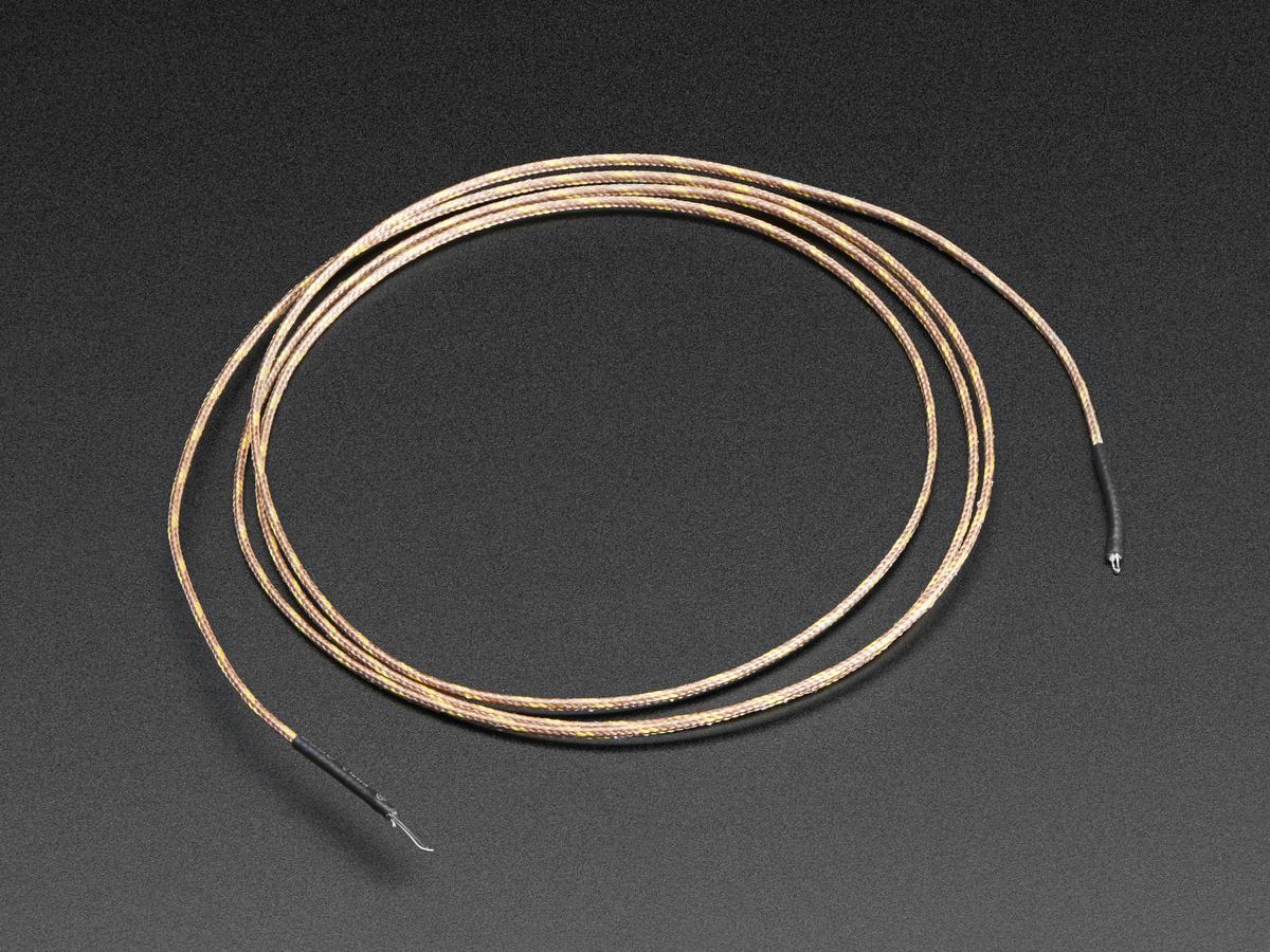 Thermocouple Type-K Glass Braid Insulated [K] ID: 270 - $9.95 ...