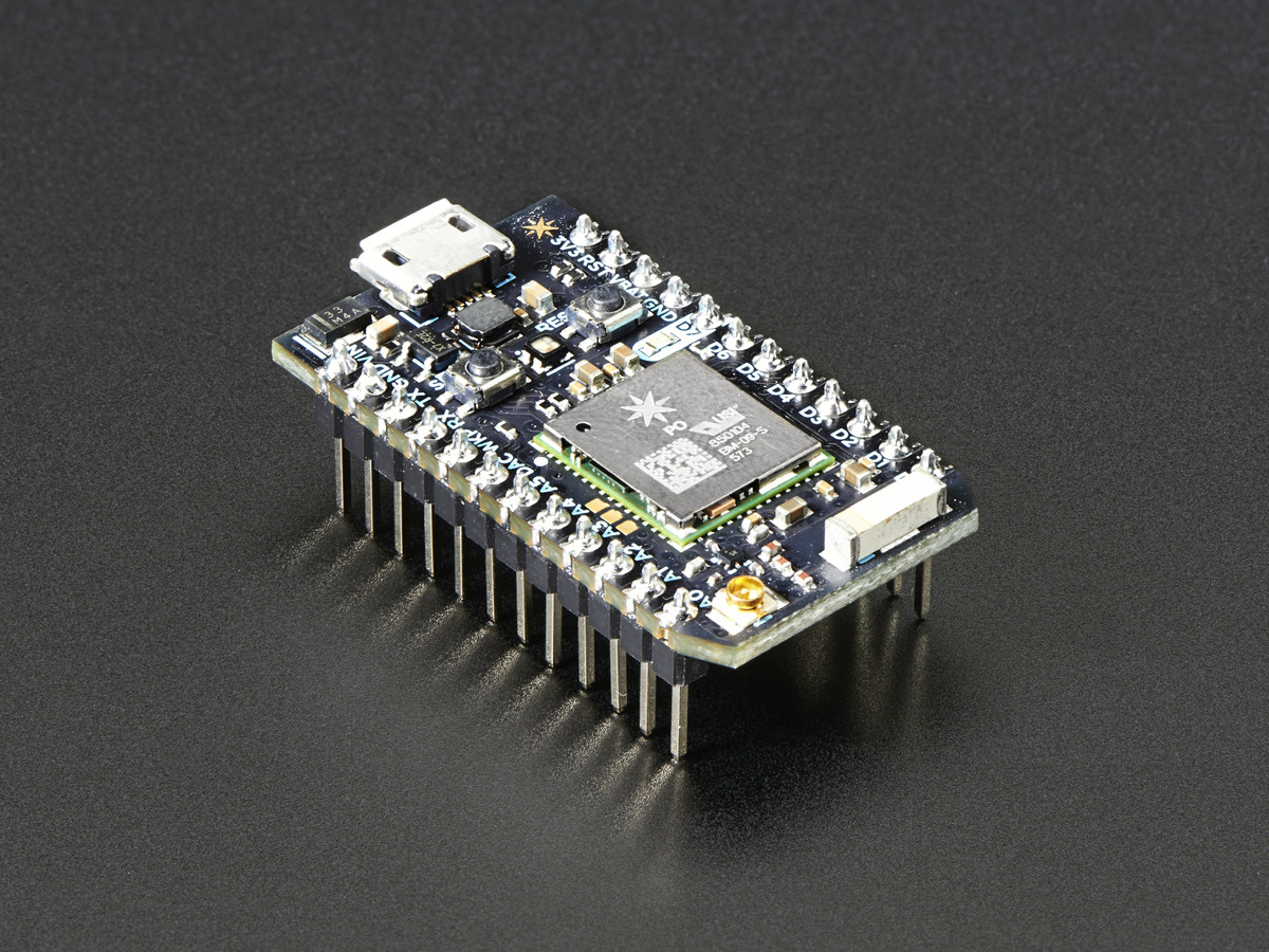 Particle Photon with Headers ID: 2721 - $19.00 : Adafruit Industries ...