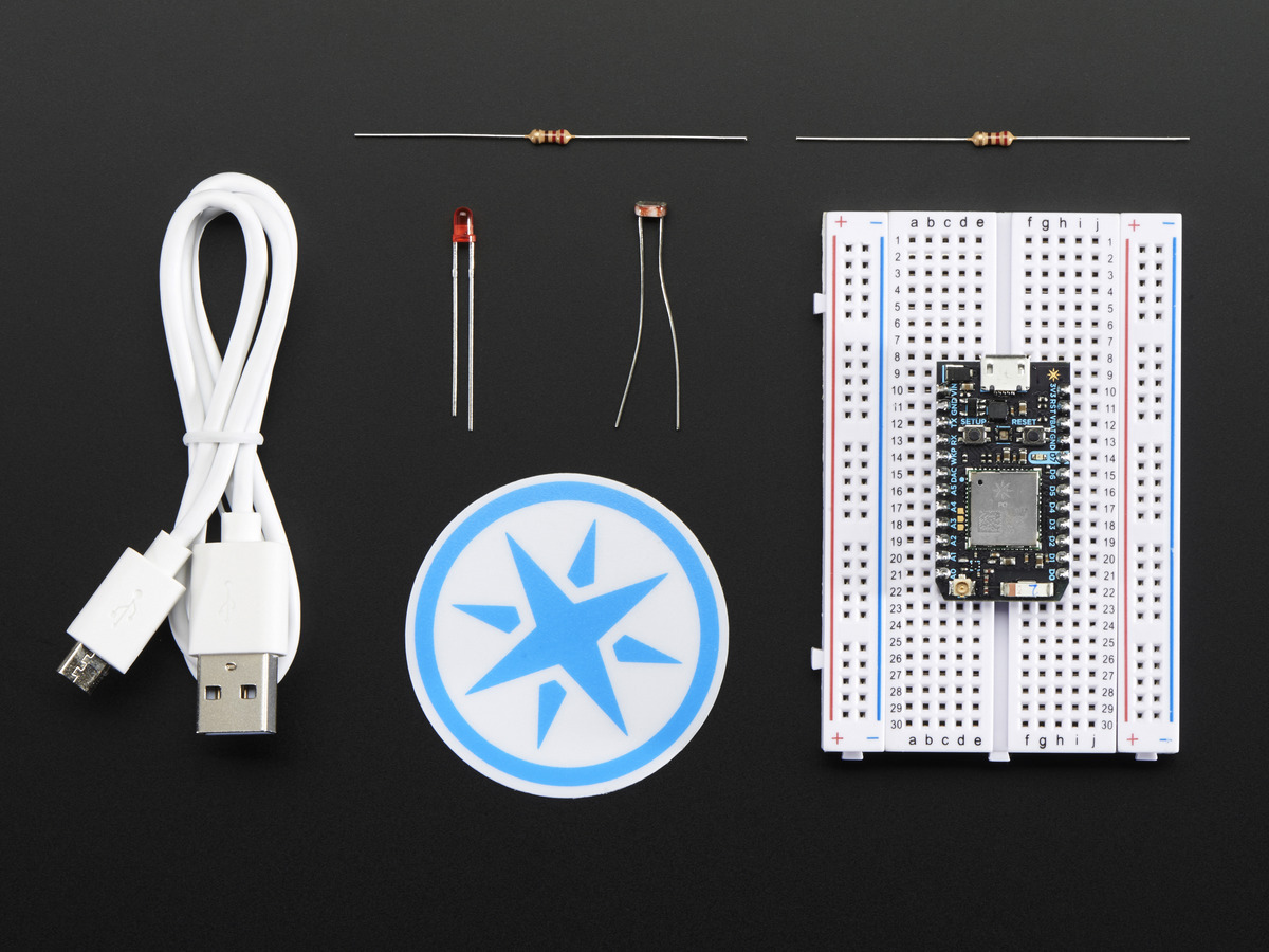 Internet Of Things Iot Adafruit Industries Unique Fun Diy Ring Detection Circuits In Modems Particle Photon Starter Kit