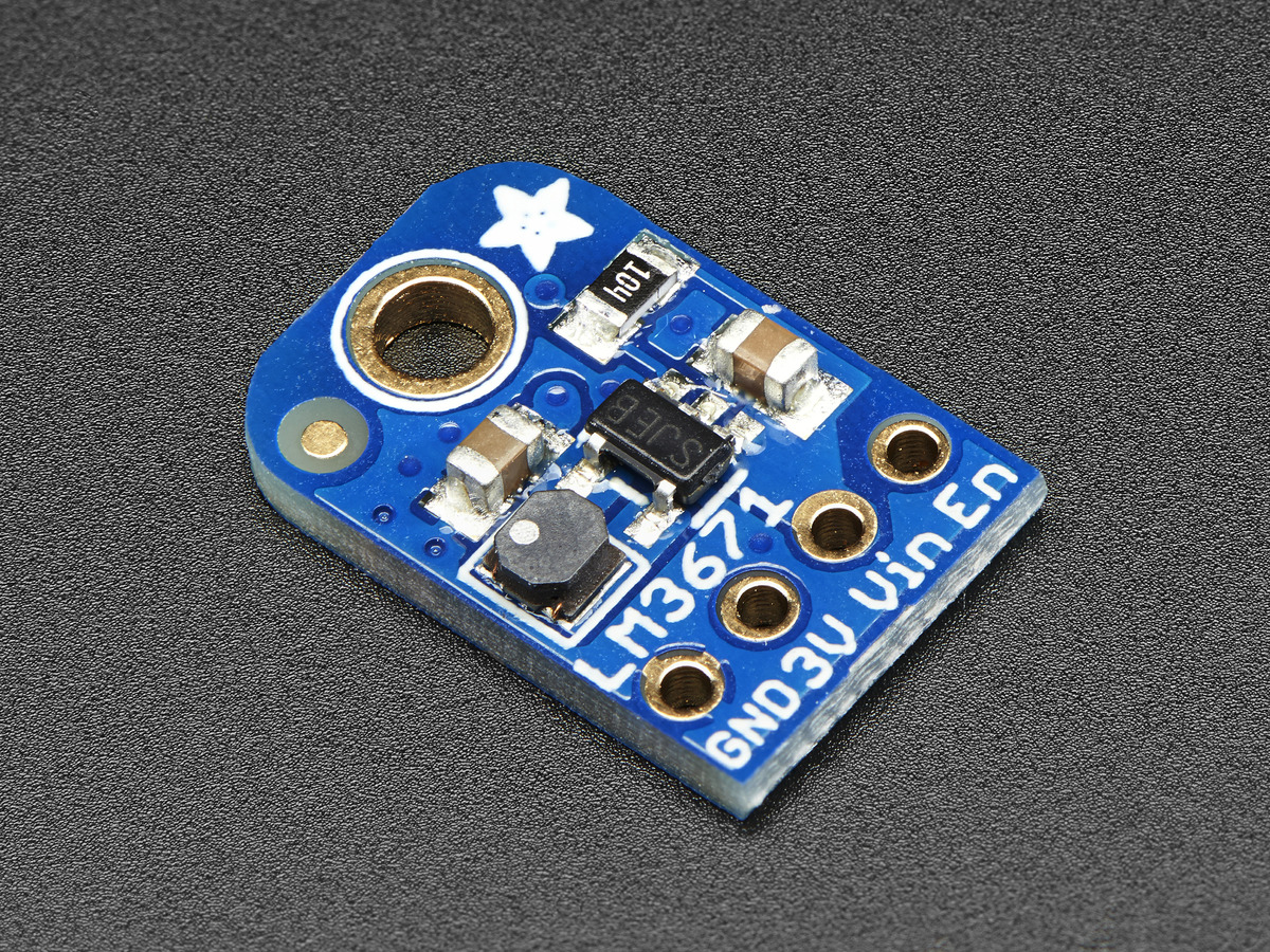 Converters Adafruit Industries Unique Fun Diy Electronics And Kits Precision Actodc Converter Lm3671 33v Buck Breakout Output 600ma Max
