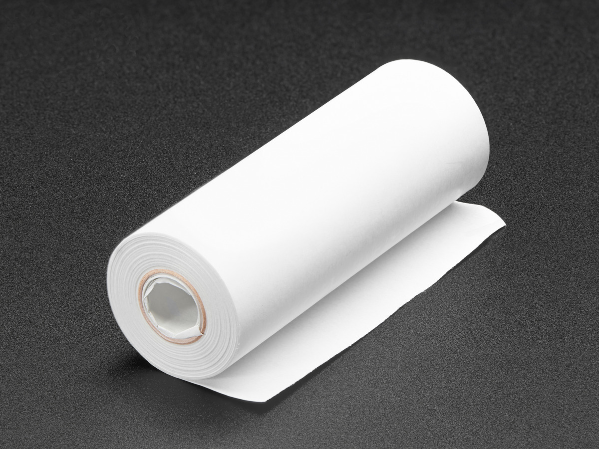 how to make thermal paper rolls