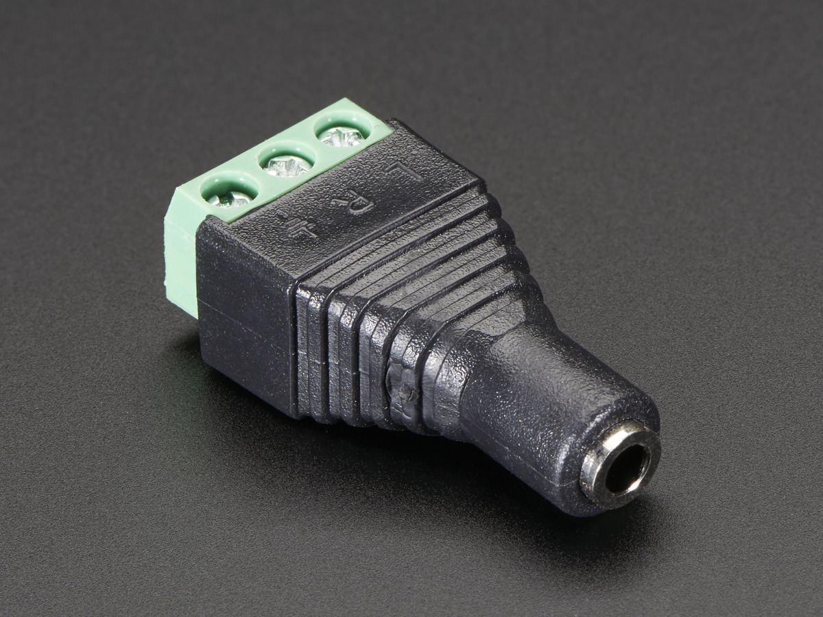 Pi Zero Pwm Audio Adding Basic Ouput To Raspberry Wiringpi Vs Pigpio 35mm 1 8 Stereo Jack Terminal Block