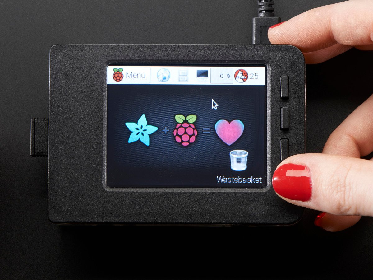 Resistive Touchscreen Manual Install Calibrate Adafruit Pitft Wiringpi Deb Package Faceplate And Buttons Pack For 28 Pitfts
