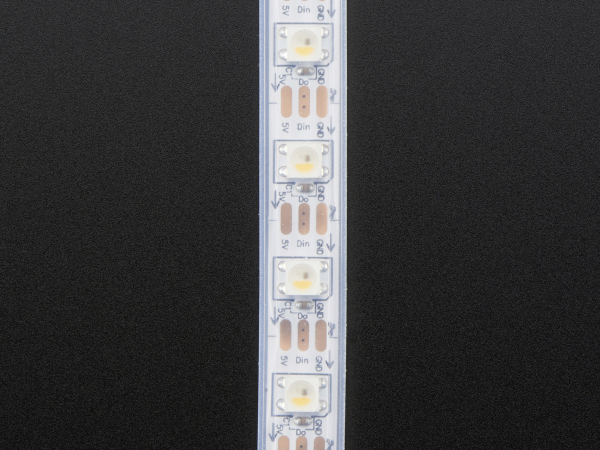 Adafruit Neopixel Digital Rgbw Led Strip White Pcb 60 M Id 1wire Geigermller Counter Schematic