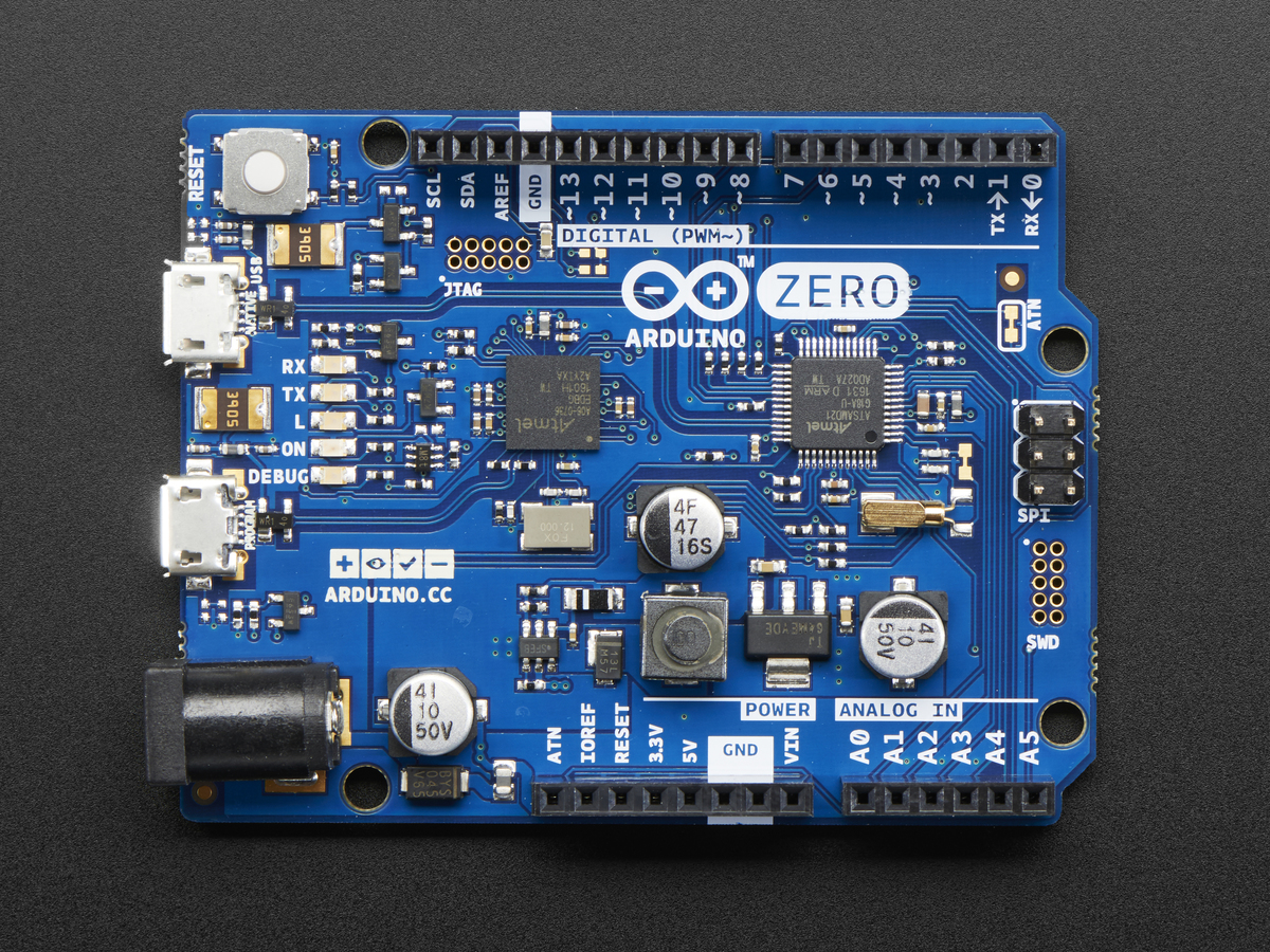 Arduino zero bit cortex m with debug