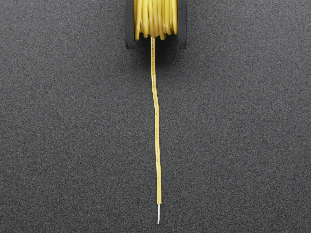 Yellow 22 Awg Wire - WIRE Center •