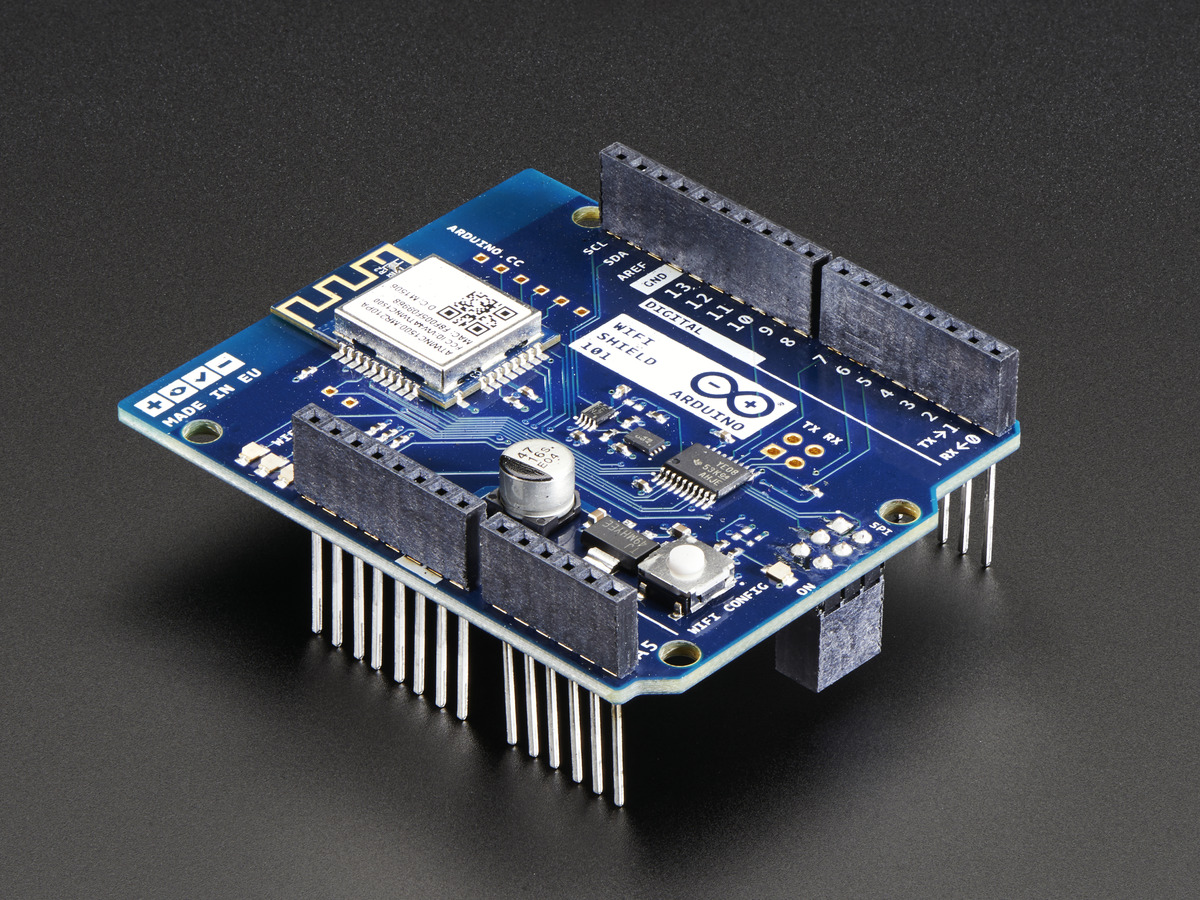 Arduino WiFi Shield 101 ID  2891 -  49.95   Adafruit Industries ... ba9deb98f172