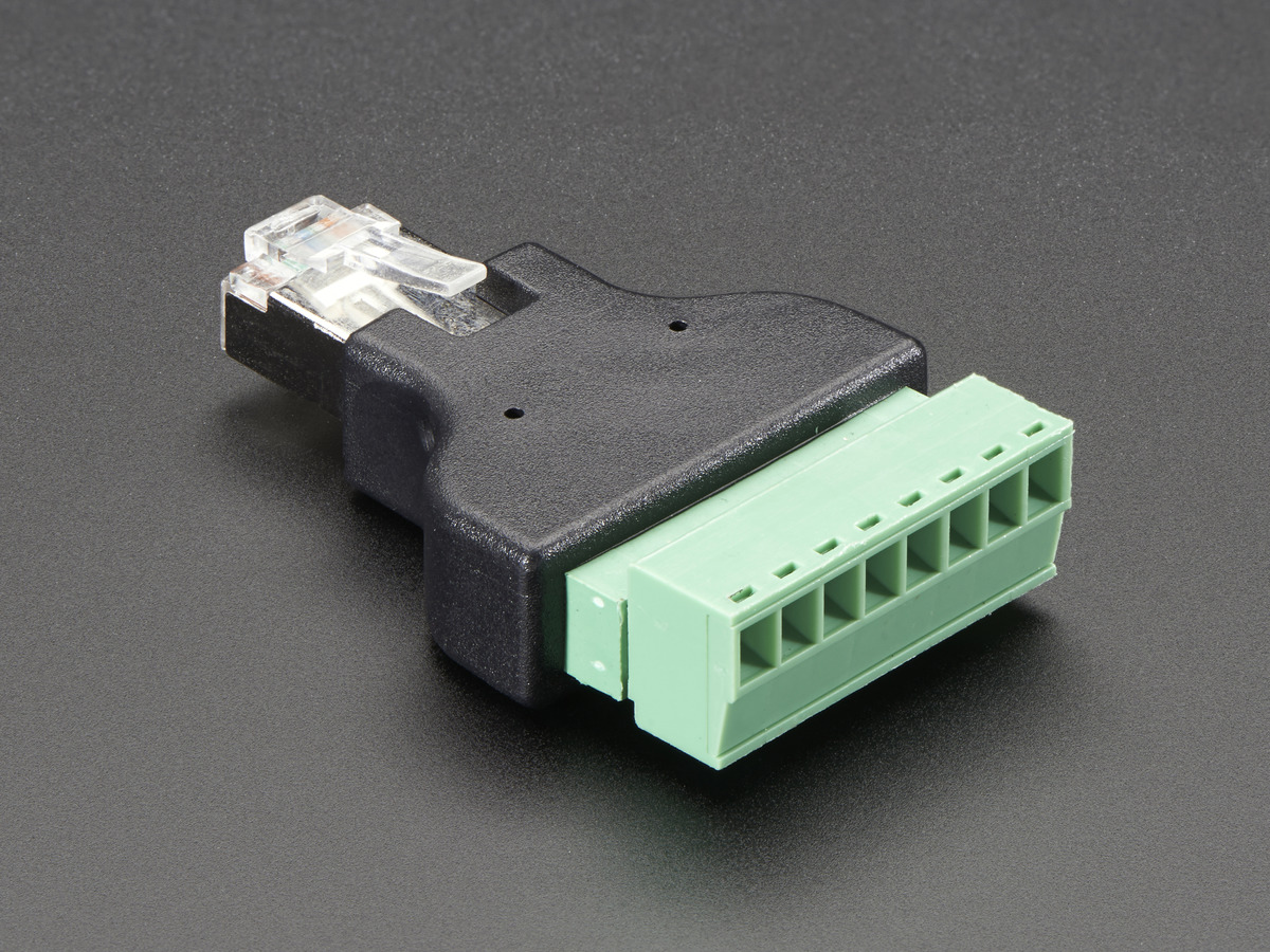 Ethernet Rj45 Male Plug Terminal Block Id 2913 595 Adafruit Circuit Board Network Cable Connector Waterproof