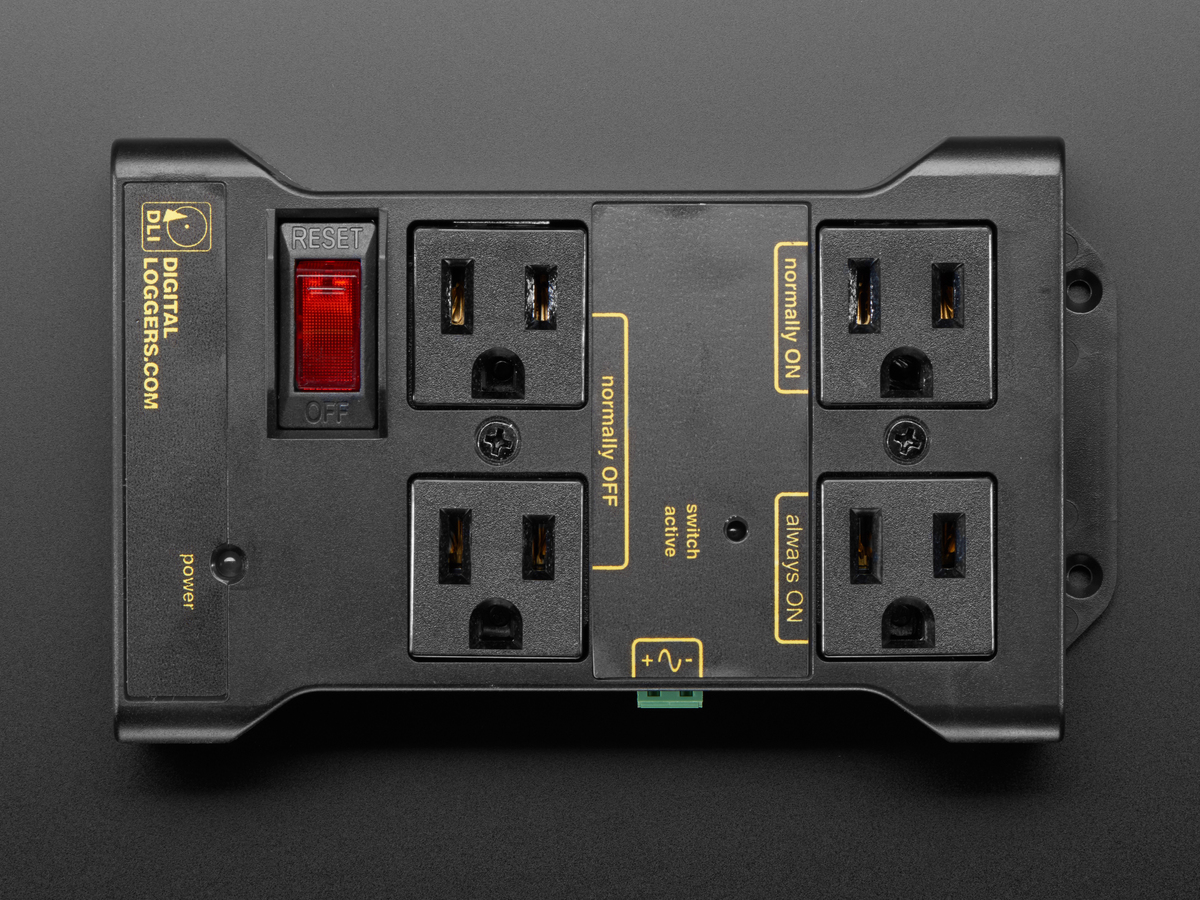 Controllable Four Outlet Power Relay Module Version 2 Switch Electrical Normally Open Tail Alternative