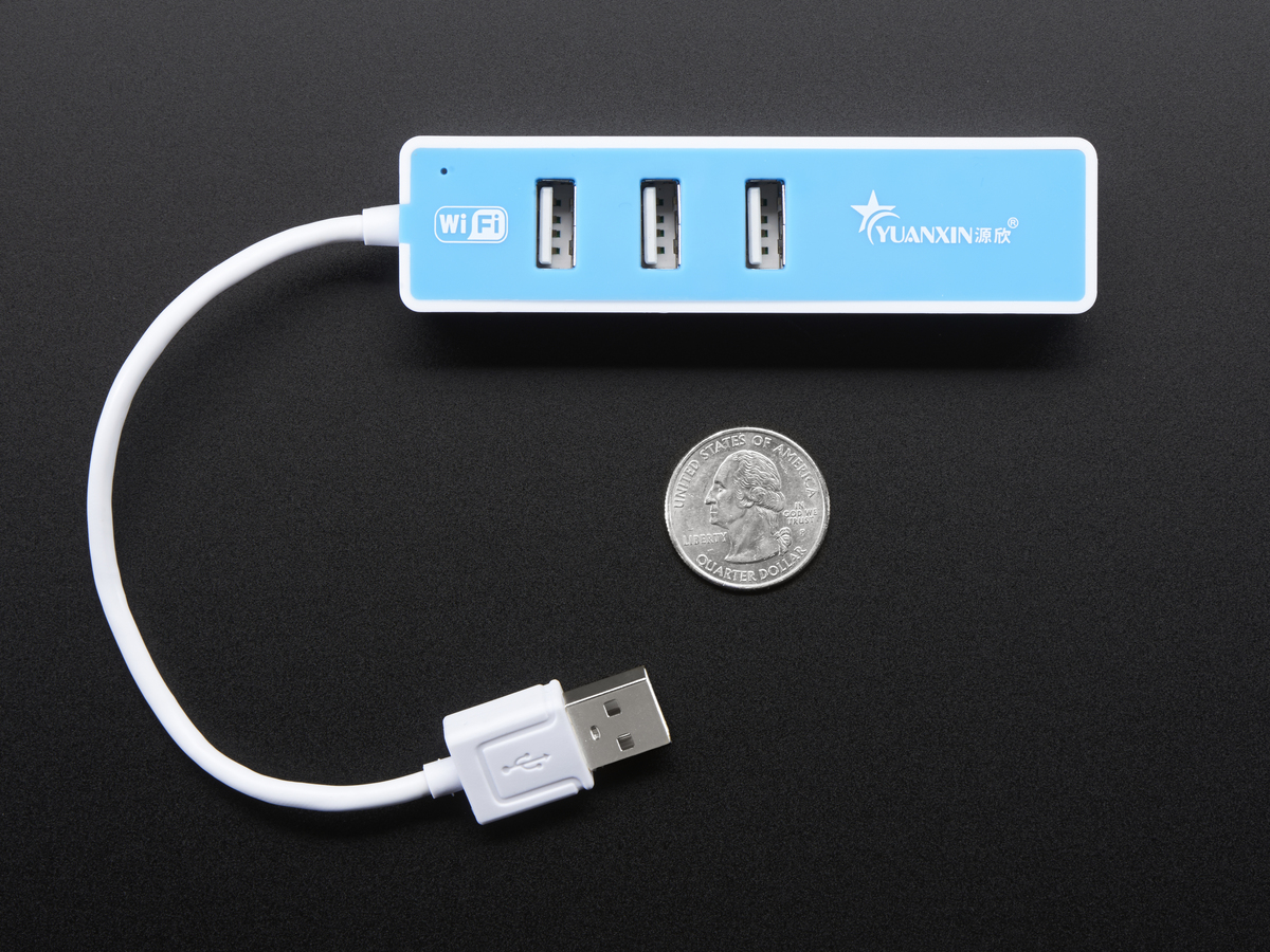 ... USB 2.0 WiFi Hub with 3 USB Ports
