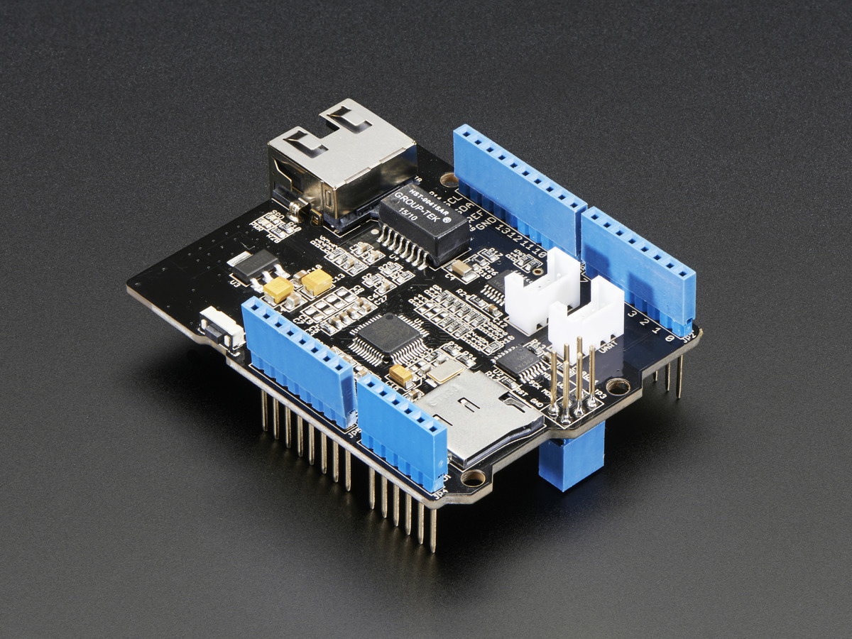 Ethernet Shield for Arduino - W5500 Chipset ID: 2971