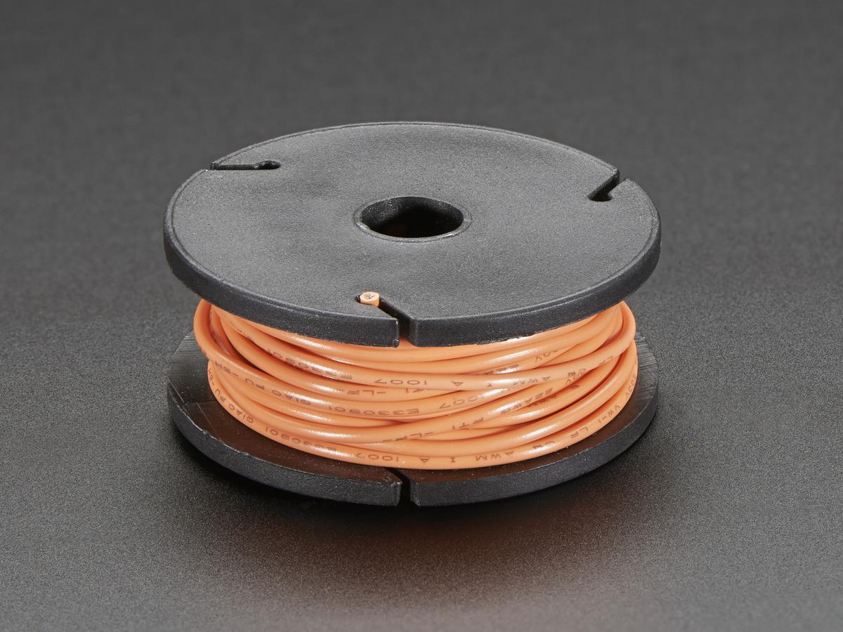 Breadboard Friendly Spdt Slide Switch Id 805 095 Adafruit Acrylic Wiring Box 10 Stranded Core Wire Spool 25ft 22awg Orange