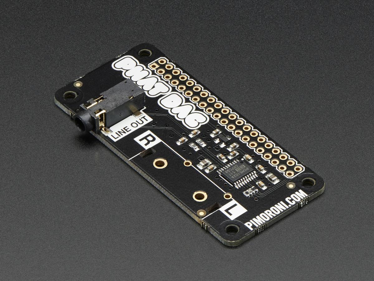 Adafruit I2S 3W Stereo Speaker Bonnet for Raspberry Pi [Mini