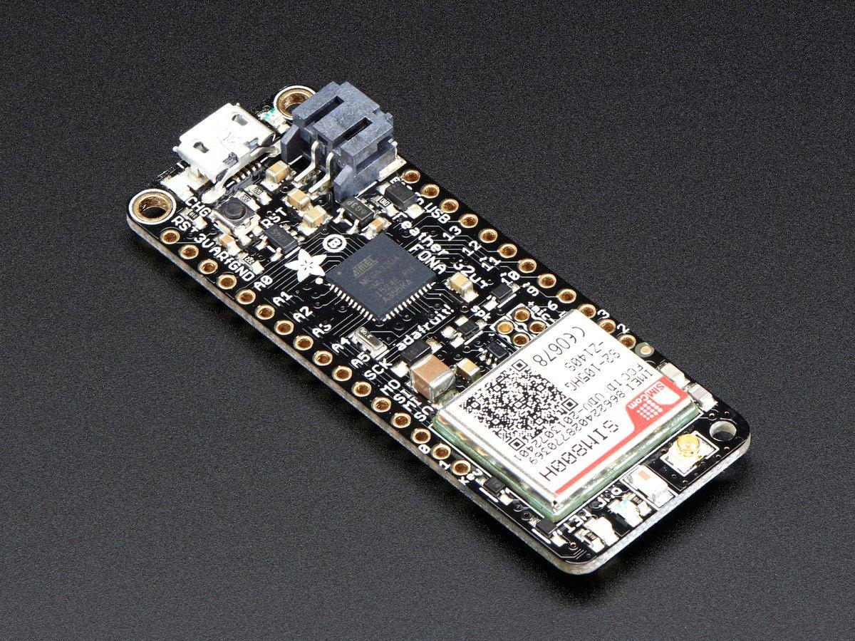 Adafruit Feather 32u4 Fona Id 3027 4495 Industries Rocker Switch Medium Com10727 Sparkfun Electronics