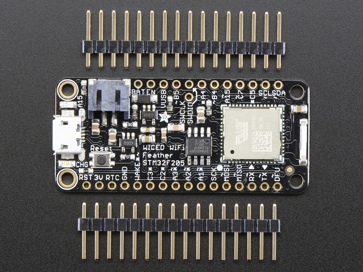 Adafruit WICED WiFi Feather - STM32F205 with Cypress WICED