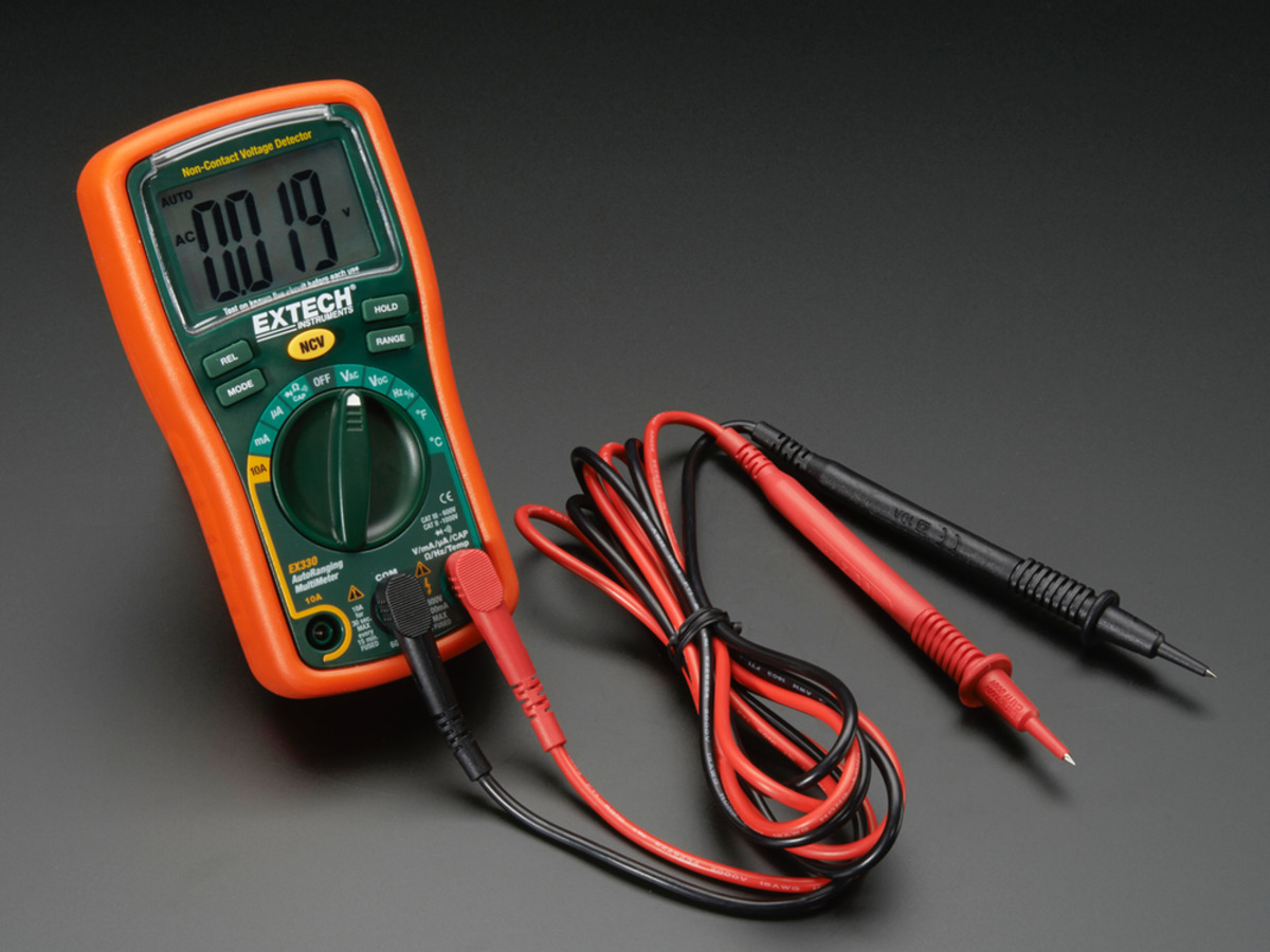 Extech Ex330 12 Function Autoranging Multimeter Id 308 Electronic Multimeters