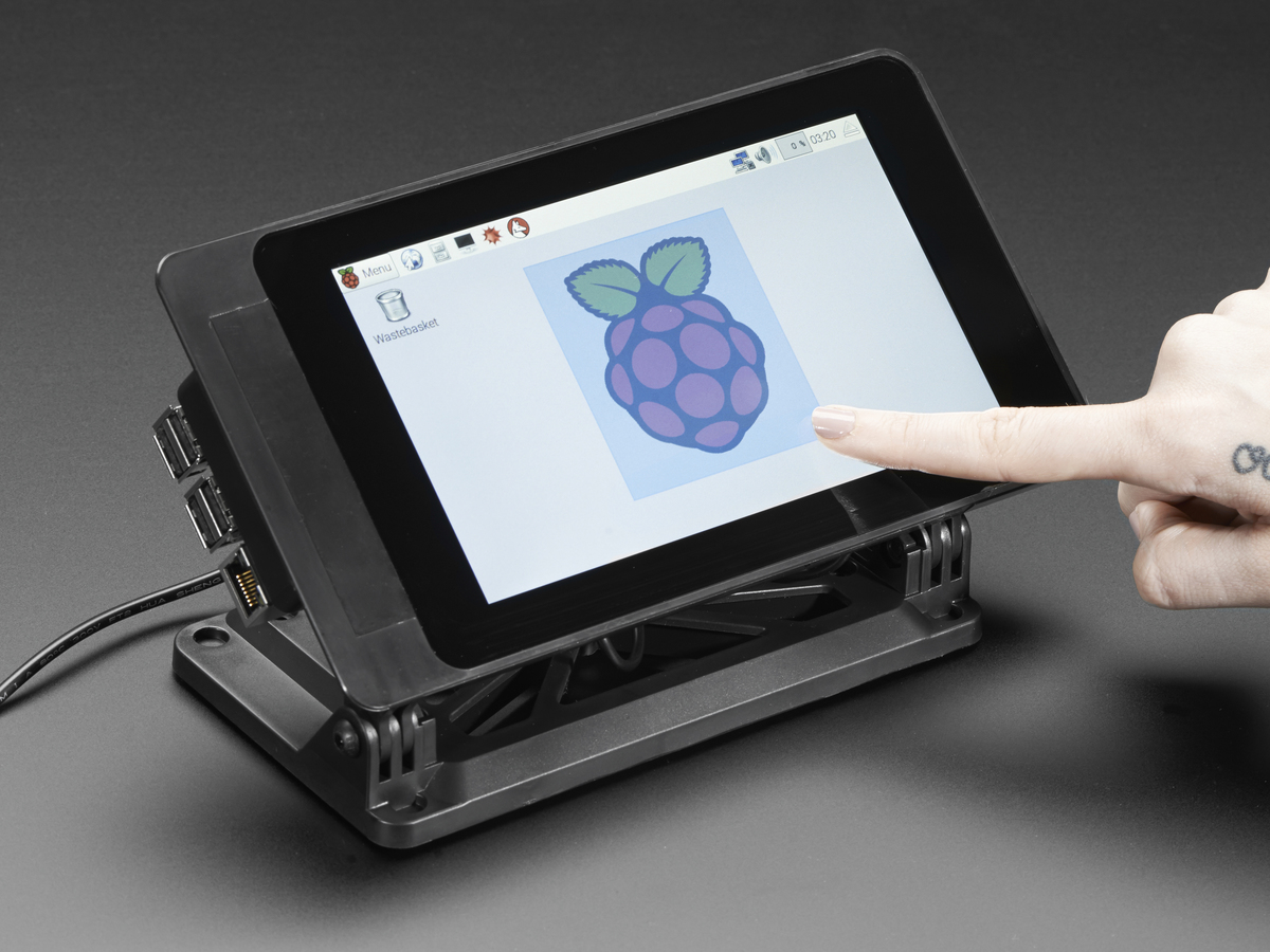 Smartipi Touch Stand For Raspberry Pi 7 Touchscreen