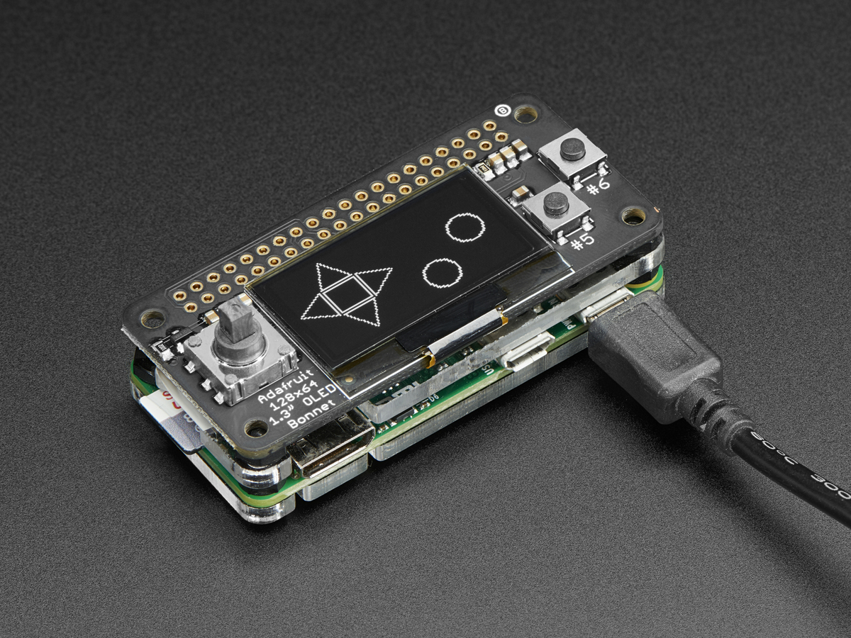 Oled Bonnet Pack For Raspberry Pi Zero Includes Pi Zero