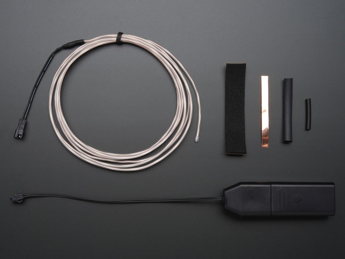 EL wire starter pack - 2.5 meter (8.2 ft) ID: 320 - $19.95 ...