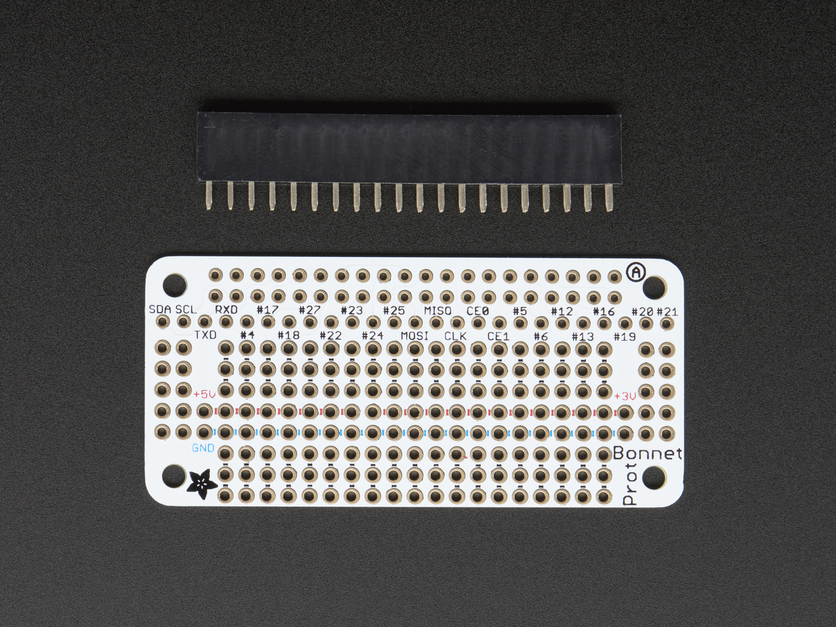 Adafruit perma-proto a EEPROM for raspberry pi a b pi 2 and pi 3 2314