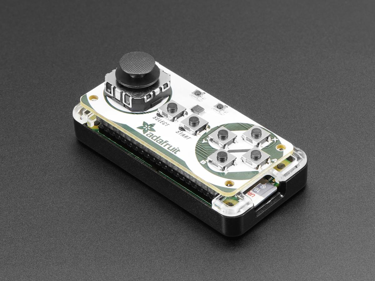 Install & Use | Adafruit Joy Bonnet for Raspberry Pi