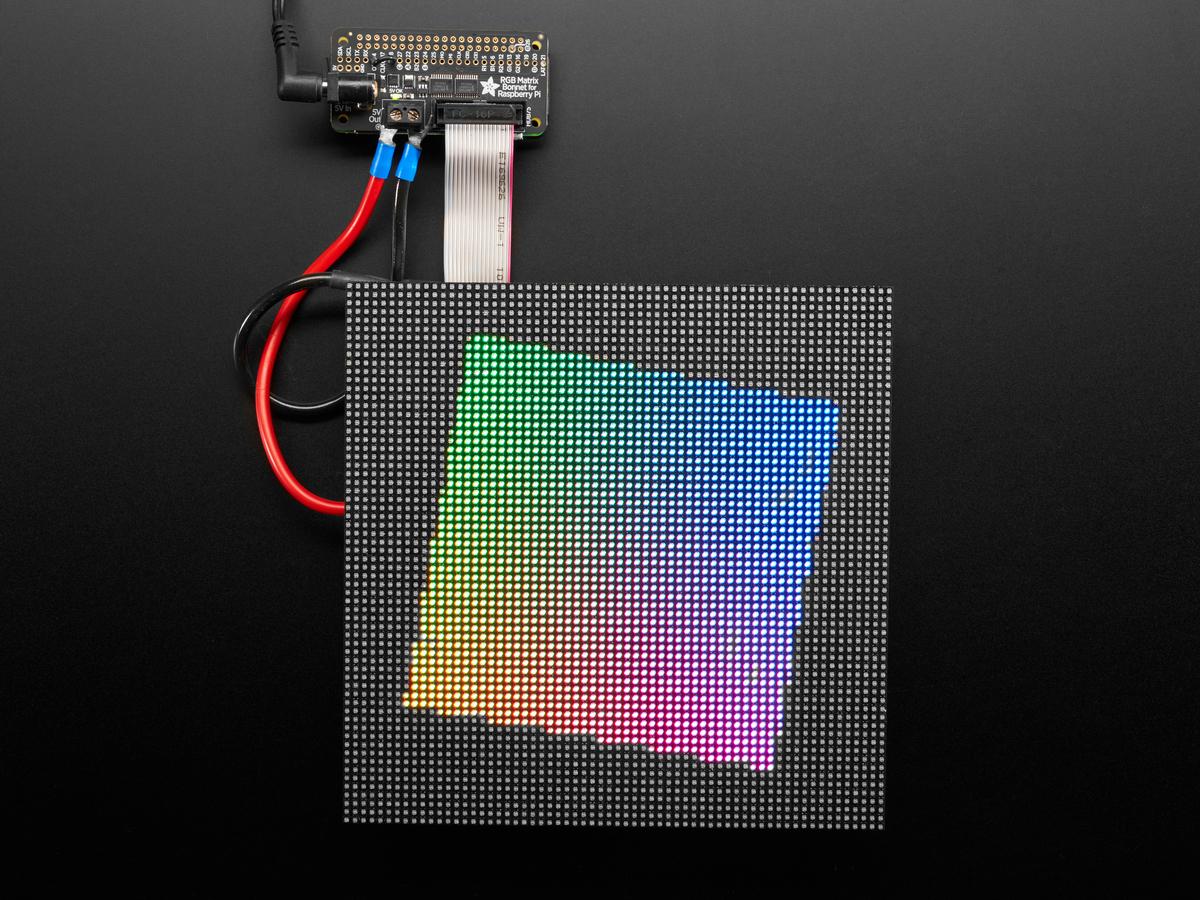 Adafruit Rgb Matrix Bonnet For Raspberry Pi Id 3211 14