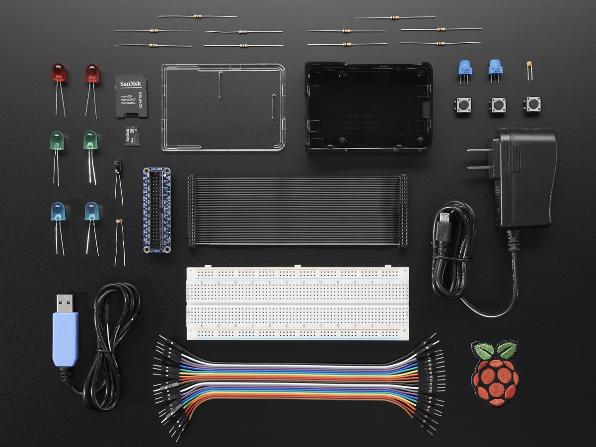 Raspberry Pi 3 Model B Starter Pack Without Id 3241 Circuit Diagram