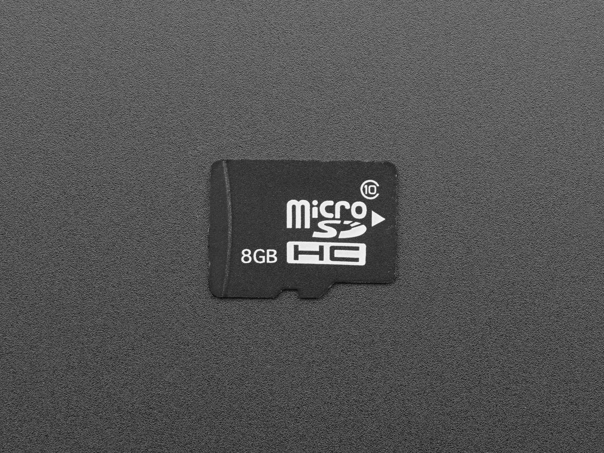 8 gb microsd card with full pixel desktop noobs v24