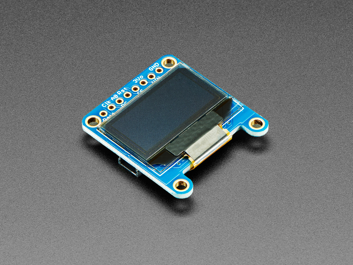 Monochrome 0 96 128x64 OLED graphic display ID: 326 - $19 50