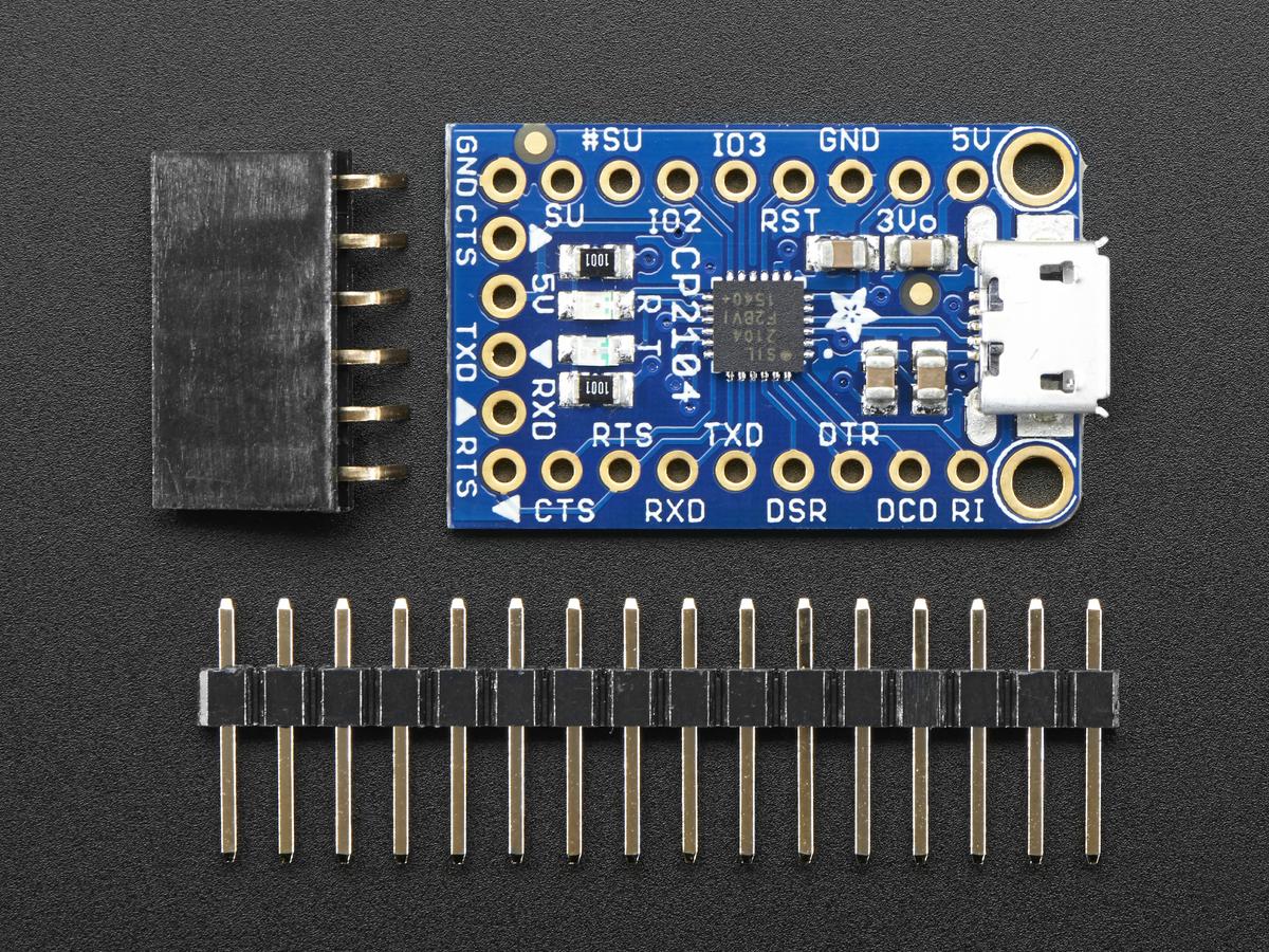 Adafruit Cp2104 Friend Usb To Serial Converter Id 3309 595 Ftdi Cable Wiring Diagram
