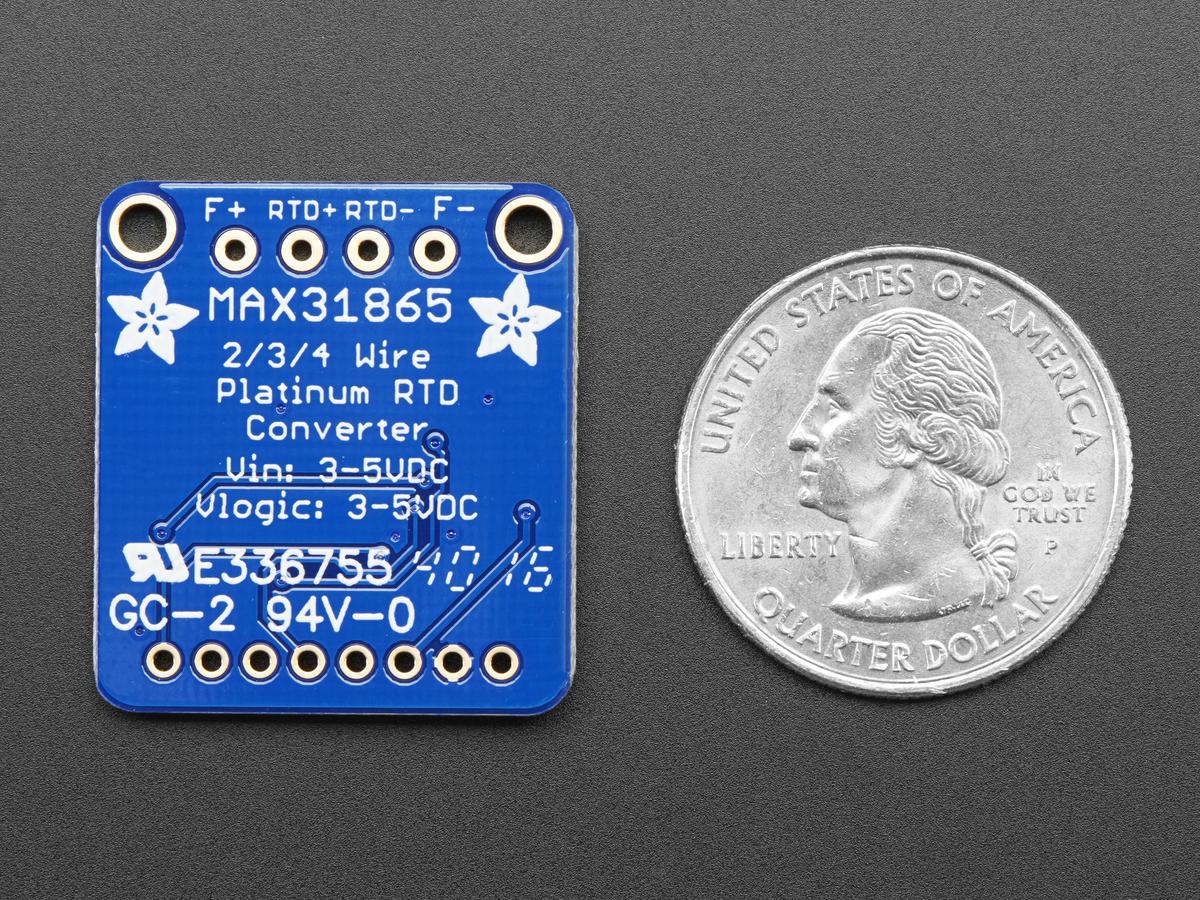 adafruit pt100 rtd temperature sensor amplifier max31865 id 3328 6