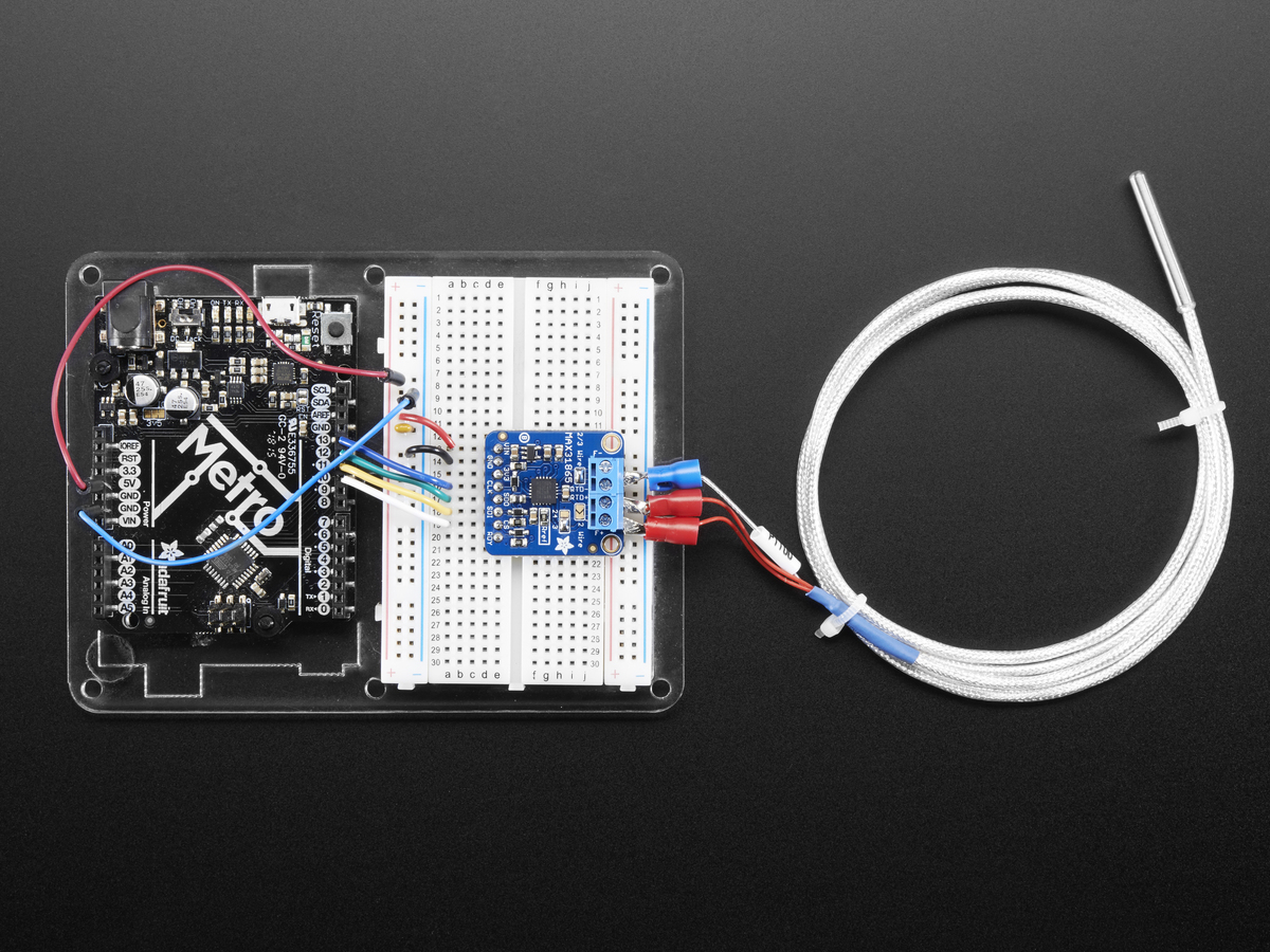 Adafruit Pt100 Rtd Temperature Sensor Amplifier