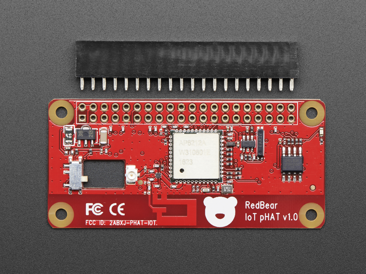 Red Bear IoT pHAT for Raspberry Pi - WiFi + BTLE - unassembled ID