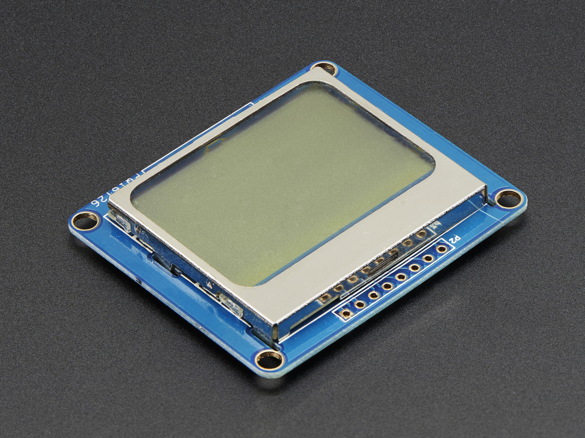 Lcds Displays Adafruit Industries Unique Fun Diy Electronics Contrast Control For Nokia 5110 3310 Monochrome Lcd Extras