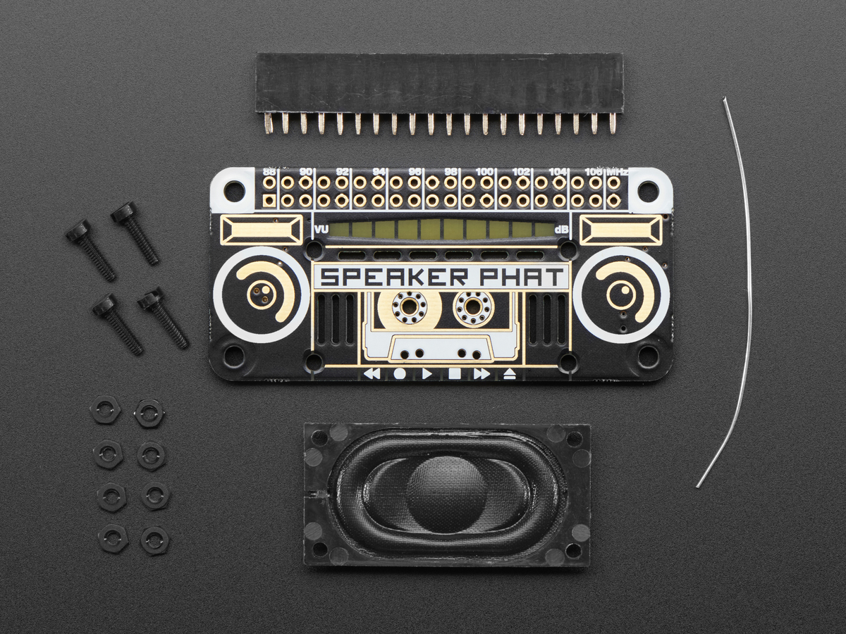 Pimoroni Speaker pHAT for Raspberry Pi Zero ID: 3401