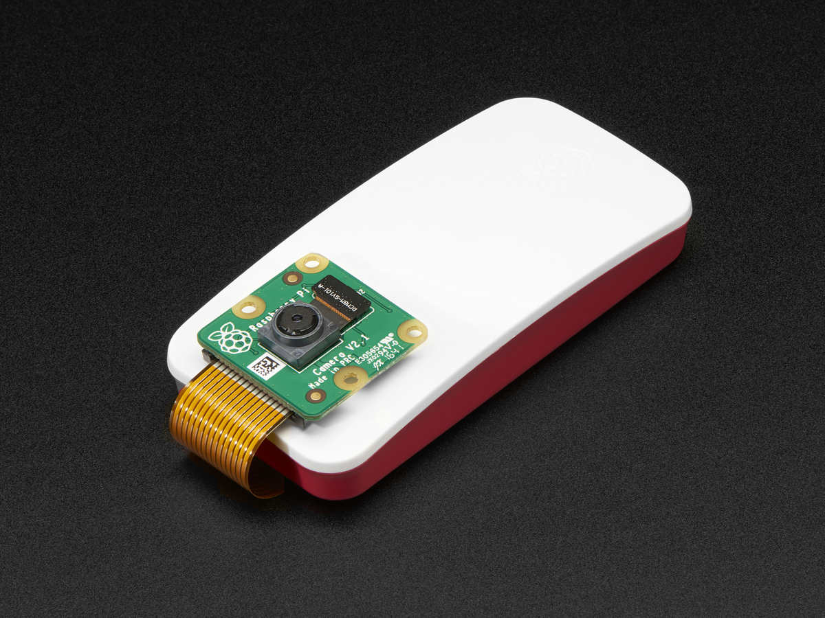 Raspberry Pi Zero W Camera Pack Includes Pi Zero W Id 3414