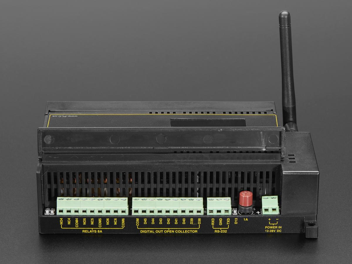 Digital Loggers PLDuino - ATmega2560 + ESP8266 Customizable PLC ID