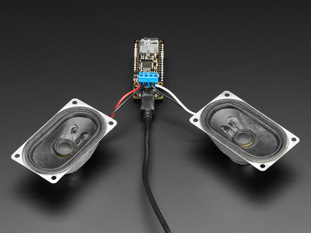 Music Maker Featherwing W Amp Mp3 Ogg Wav Midi Synth Player Wiring 3w Leds In Series Stereo