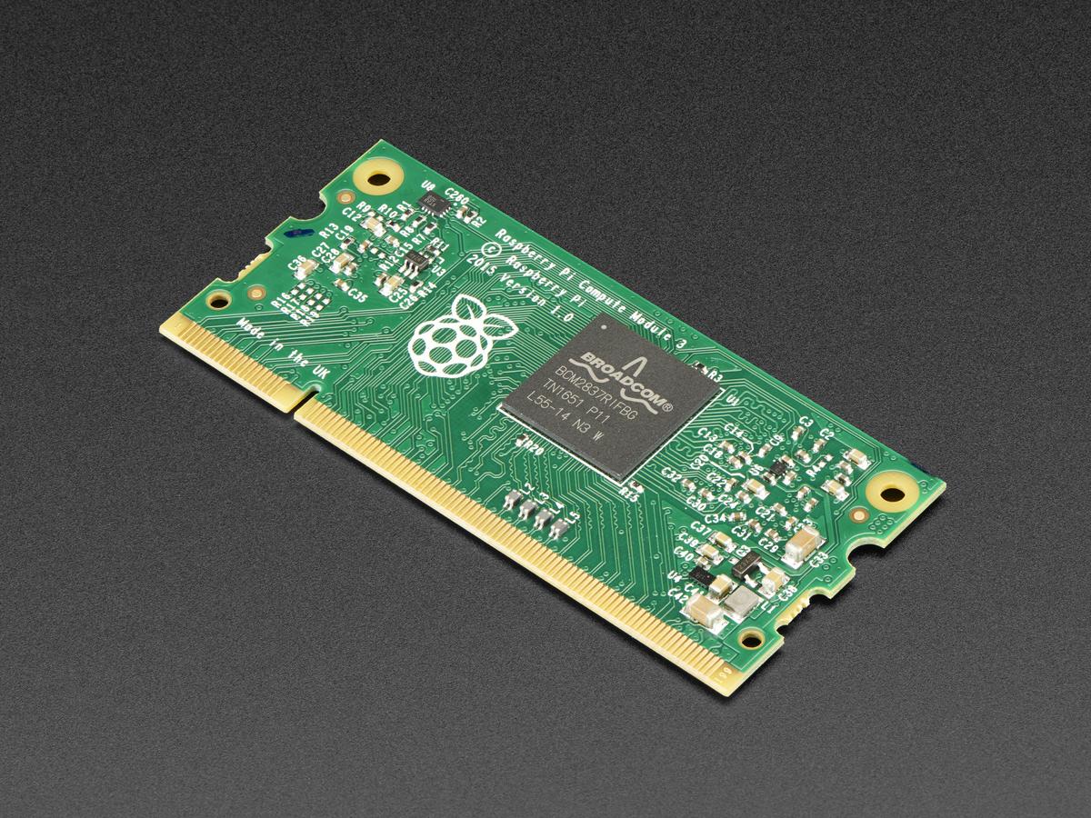 Raspberry Pi Compute Module 3 ID: 3440 - $35 00 : Adafruit