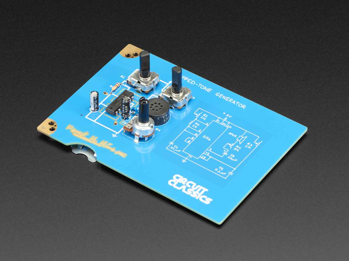 Star Simpsons Circuit Classics Stepped Tone Generator Id 3459 Pics Photos Science Resistance Funny Circuits Board Boards