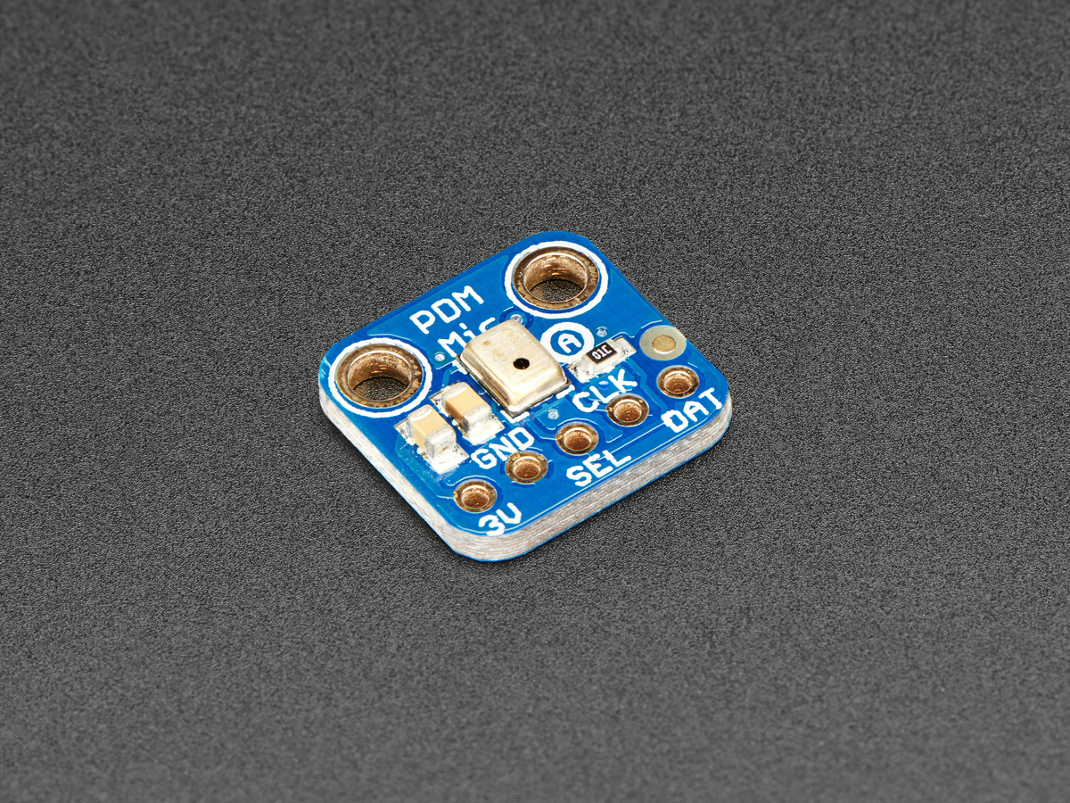 Adafruit PDM MEMS Microphone Breakout ID: 3492 - $4.95 : Adafruit ...