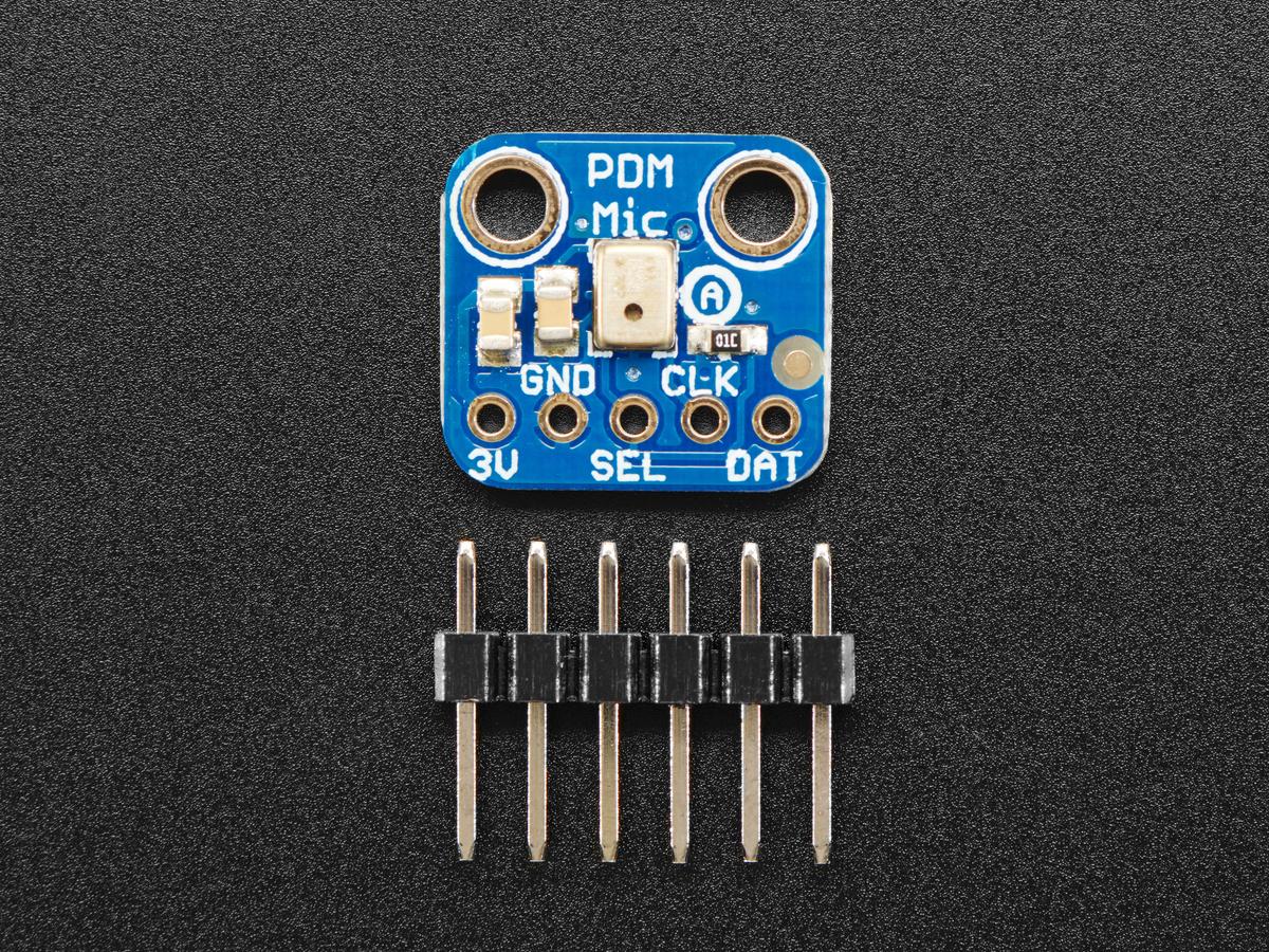 Adafruit PDM MEMS Microphone Breakout ID: 3492 - $4 95