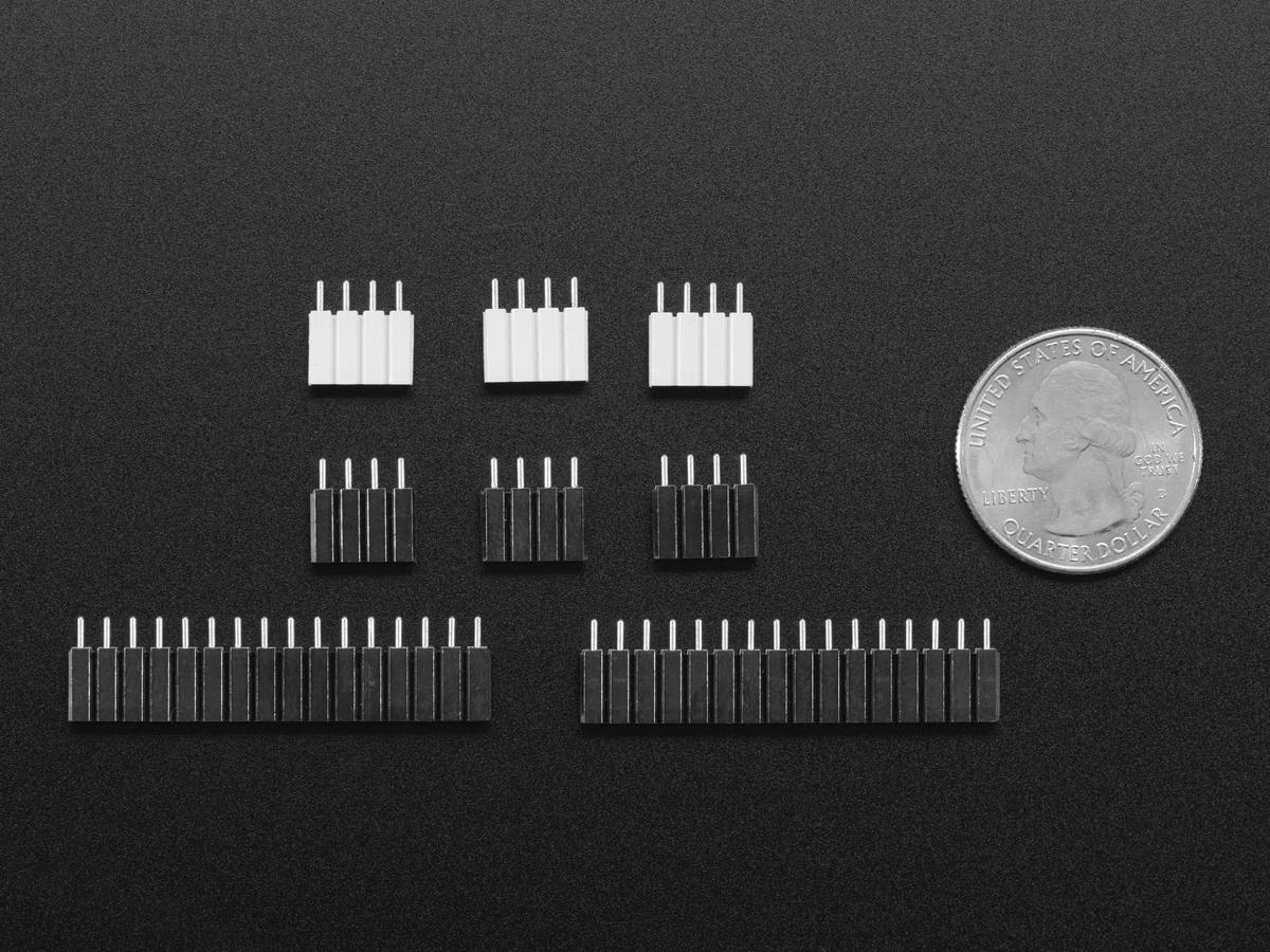 ... Set of Header Pins for MicroPython pyboard