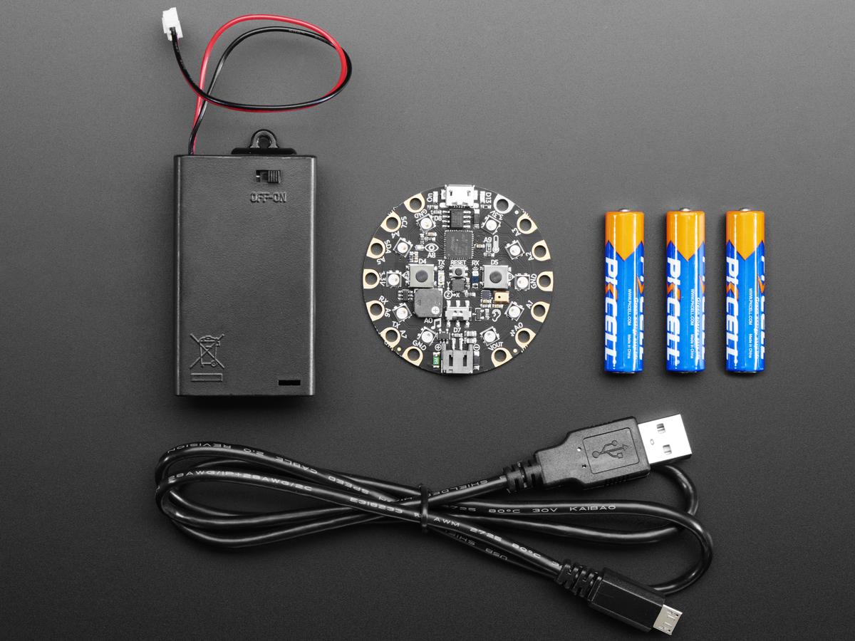 Circuit Playground Express Base Kit Id 3517 2995 Adafruit Wiring Harness Decal Starter Omc